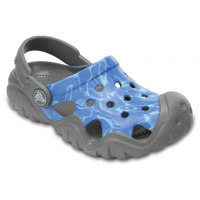 crocs swiftwater graphic clog outdoorsandalen sandalen kinder online kaufen. Black Bedroom Furniture Sets. Home Design Ideas