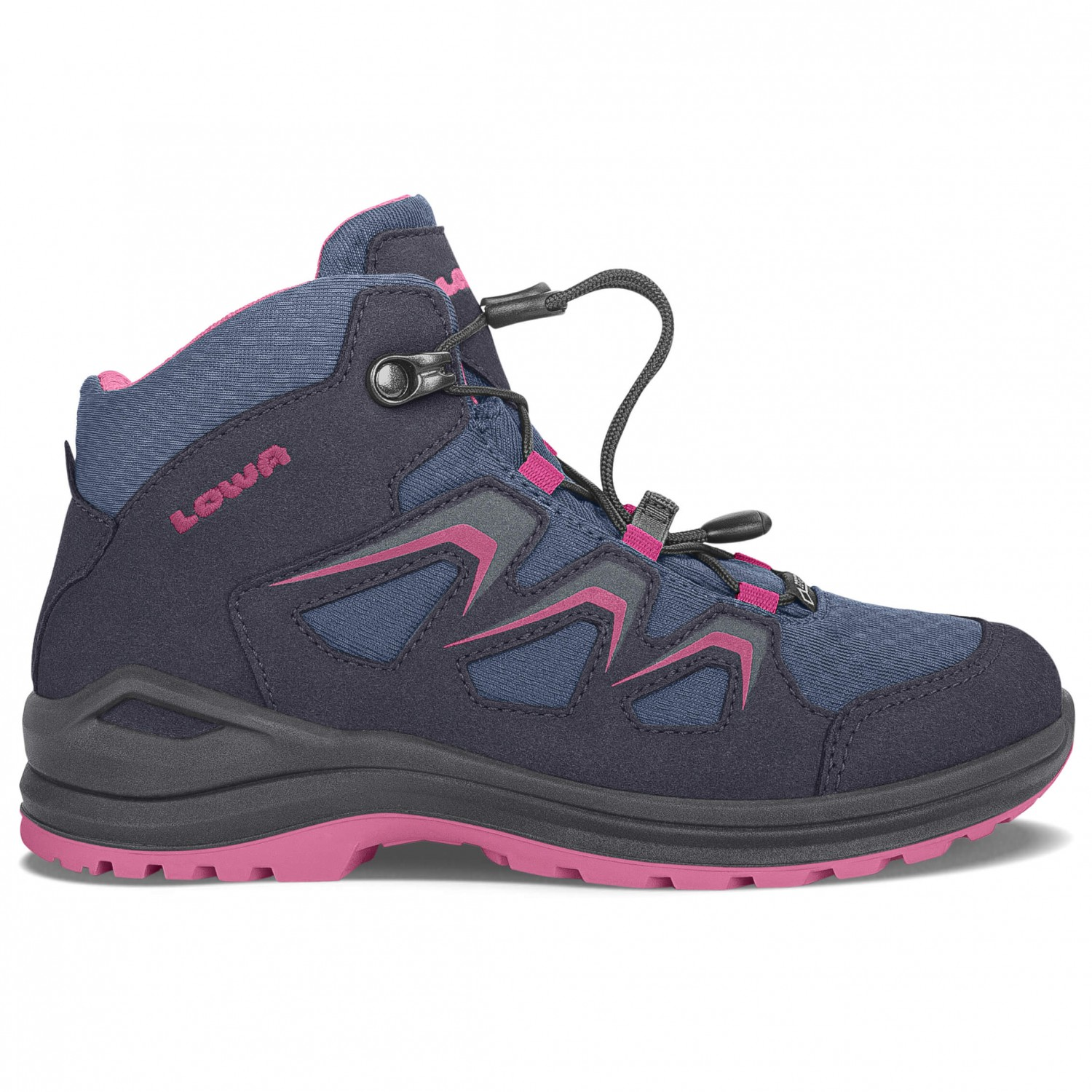 LowaINNOX EVO GTX JUNIOR - Walking boots - navy/beere 9D3KLmD