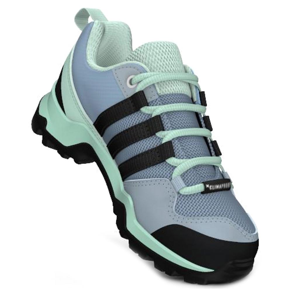 adidas - Kid's Terrex AX2R CP - Multisportschuhe - Blue Beauty / Core Black  / Shock Yellow | 28 (EU)