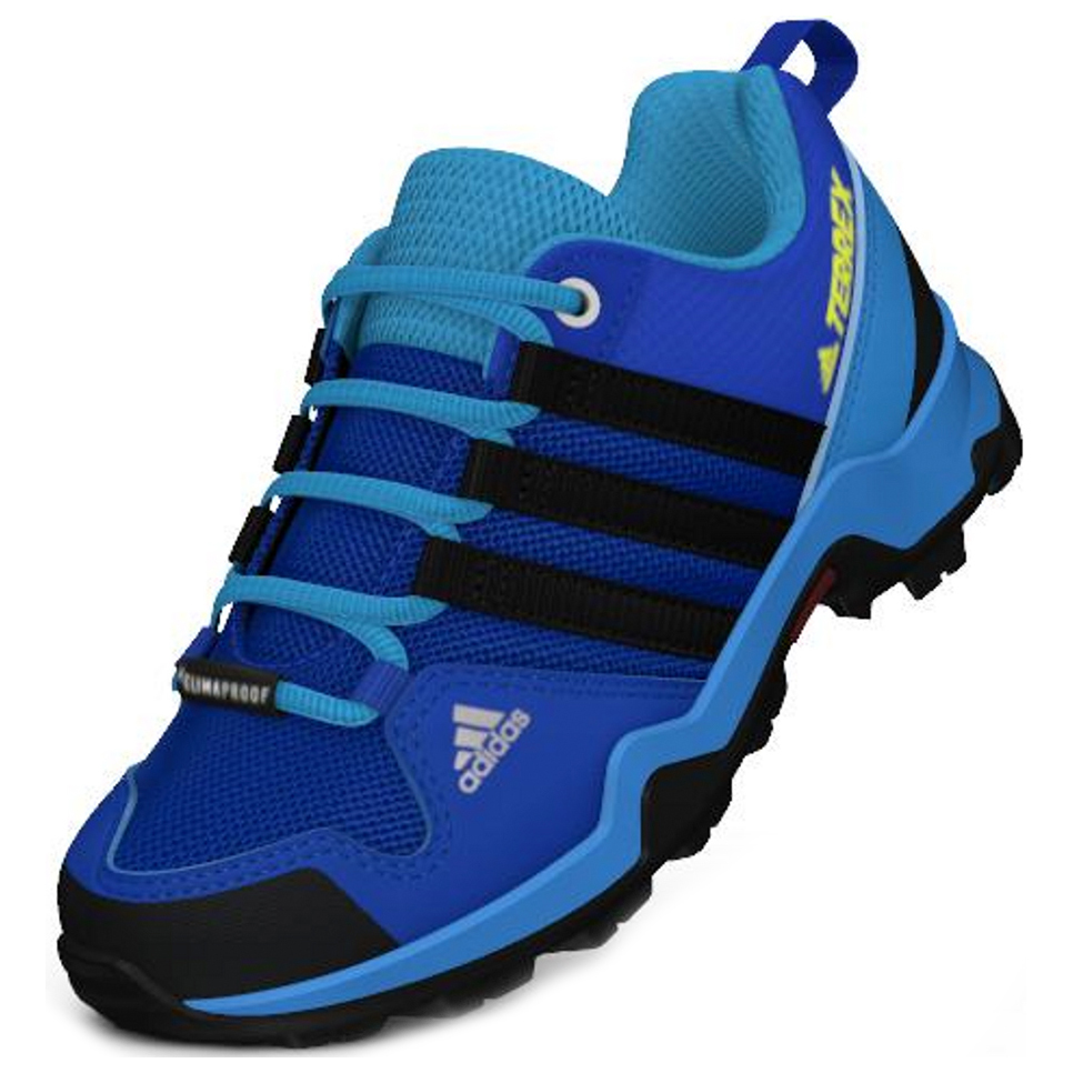adidas - Kid's Terrex AX2R CP - Multisportschuhe - Blue Beauty / Core Black  / Shock Yellow | 28 (EU)
