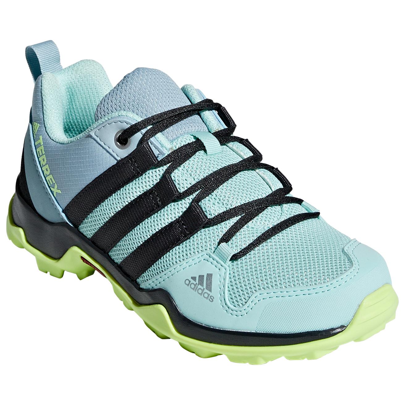 adidas Kid's Terrex AX2R Multisportschuhe Clear Mint Carbon Hi Res Yellow | 35 (EU)