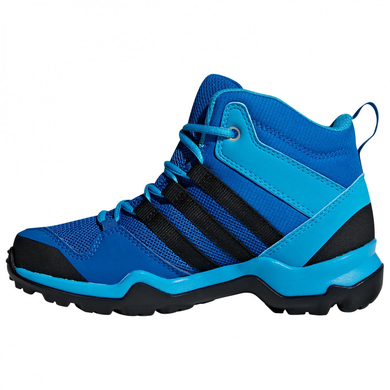 adidas Kid's Terrex AX2R Mid CP Chaussures de randonnée Collegiate Navy Core Black Glory Blue | 29 (EU)