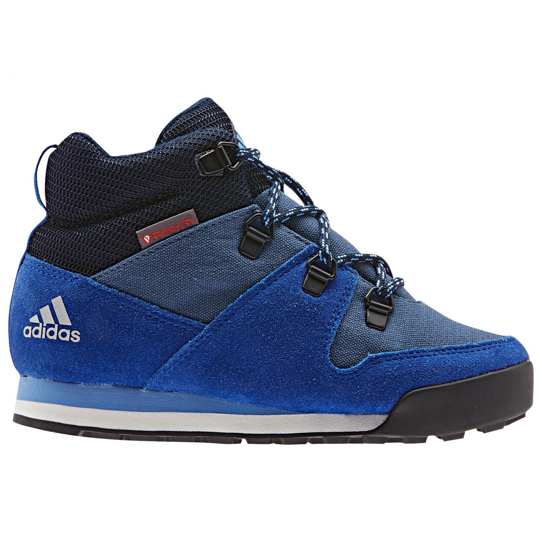 adidas Kid's CW Snowpitch Winterschuhe Tech Ink Collegiate Royal Real Blue | 12K (UK)