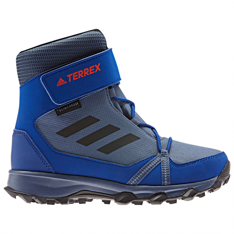 large discount free shipping good adidas - Kid's Terrex Snow CF CP CW - Winterschuhe - Tech Ink / Core Black  / Active Orange | 1 (UK)