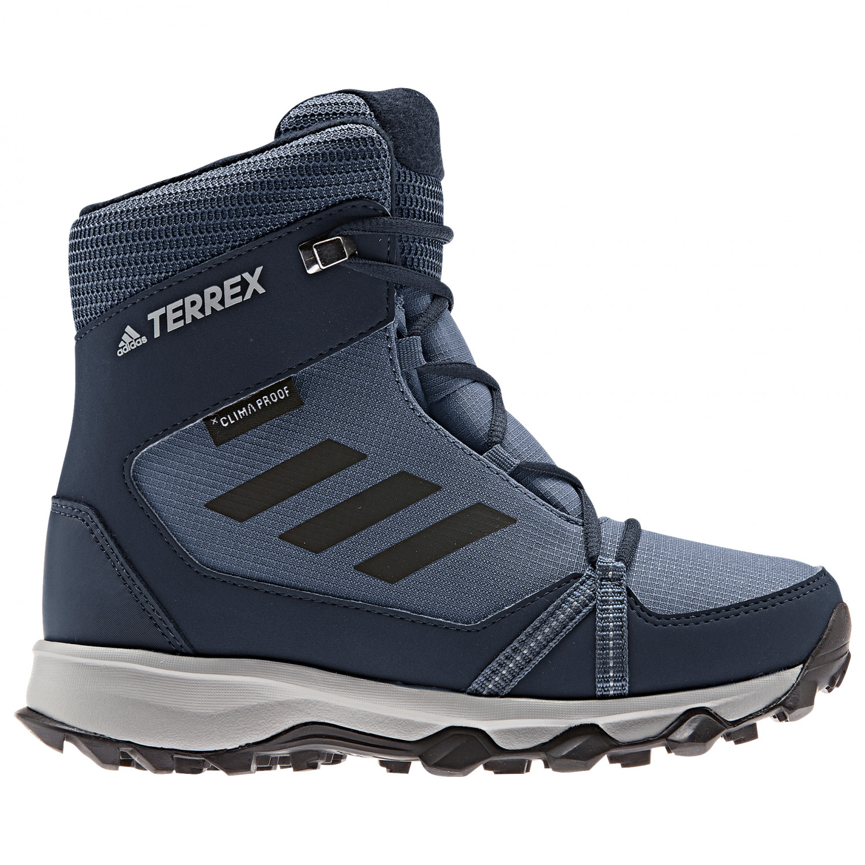 adidas Kid's Terrex Snow CP CW Chaussures hiver Active Maroon Core Black Maroon   1 (UK)