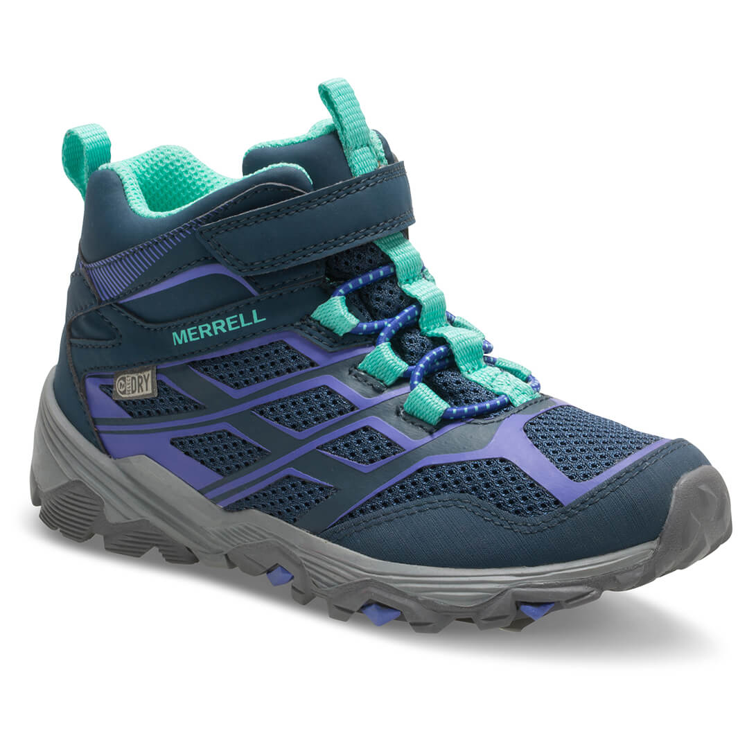 Merrell Ml Moab Fst Mid A C Wtrp Walking Boots Girls