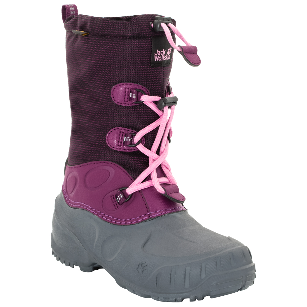 Jack Wolfskin Iceland Texapore High Winter Boots Kids