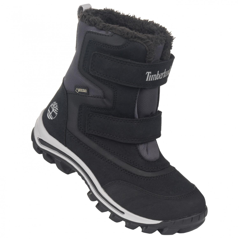 89ceded9c17 Timberland - Kid's Chillberg 2-Strap GT - Winter boots - Dark Grey / Pink    13K (US)