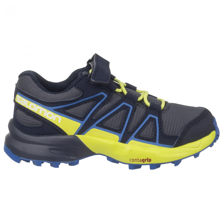 cheap for discount 46ae1 bc718 Salomon - Kid's Speedcross Bungee - Trail running shoes - Black / Graphite  / Hawaiian Surf | 26 (EU)