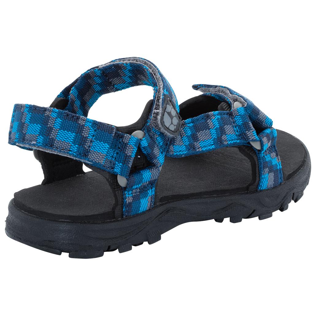 huge discount e6e1f 41d9a Jack Wolfskin - Seven Seas 2 Sandal Boys - Sandalen - Glacier Blue | 27 (EU)