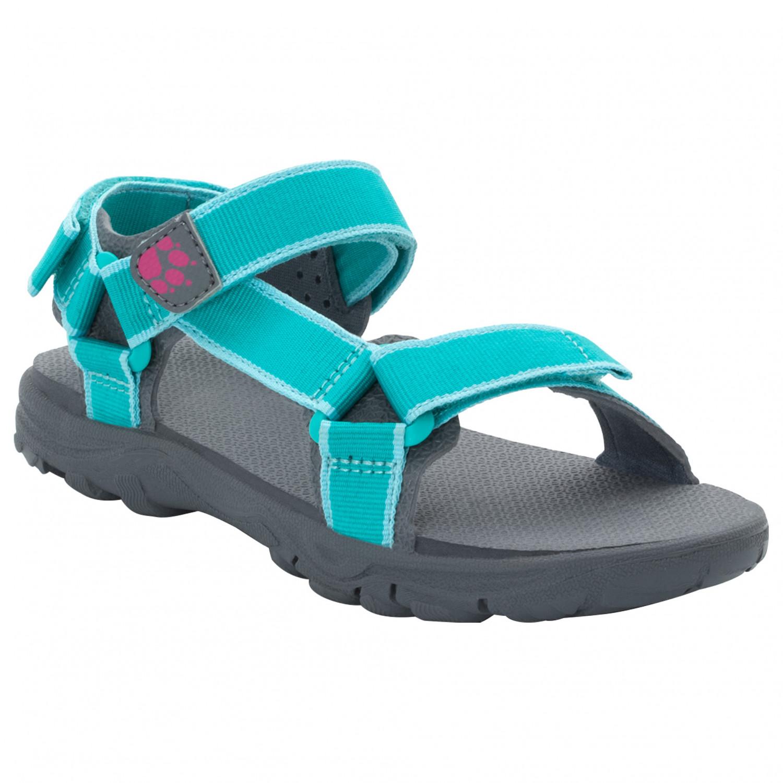size 40 9336d d1a6a Jack Wolfskin - Seven Seas 2 Sandal Girls - Sandalen - Aquamarine | 27 (EU)