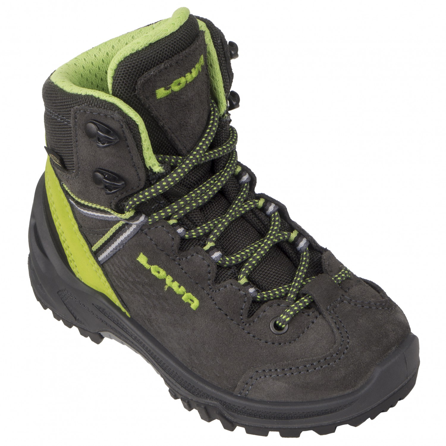 first look differently multiple colors Lowa - Kid's Arco Gtx Mid Junior - Walking boots - Anthrazit / Limone | 26  (EU)
