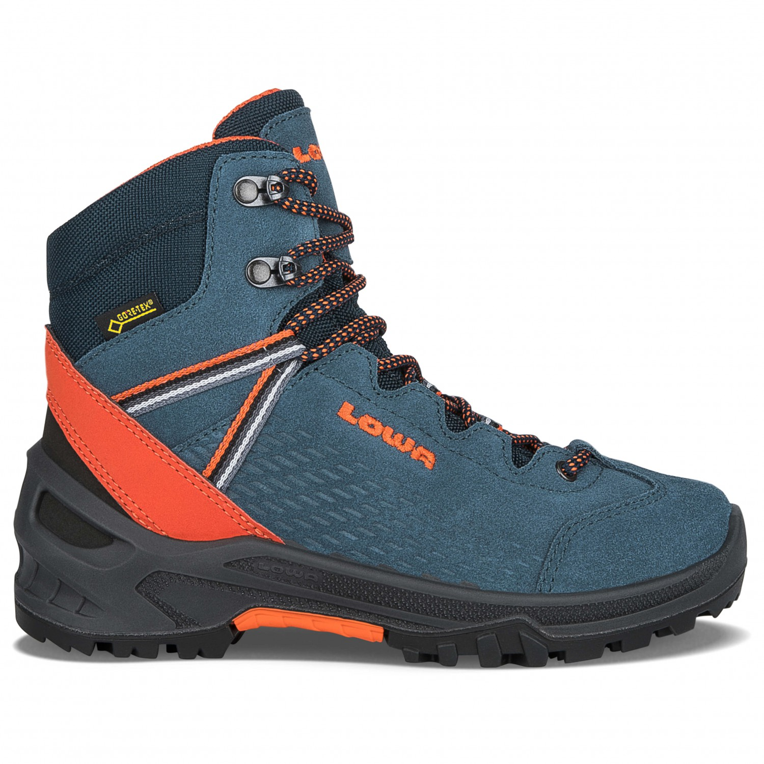 price reduced best shoes coupon codes Lowa - Kid's Ledro Gtx Mid Junior - Wanderschuhe - Anthrazit / Limone | 26  (EU)
