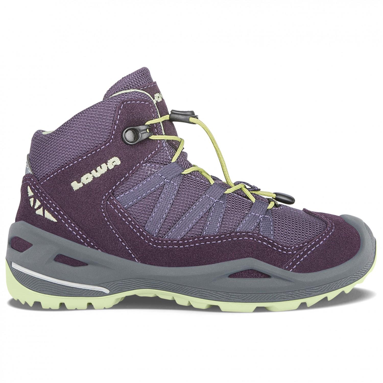 Lowa - Kid's Robin Gtx Qc - Chaussures de randonnée taille 26, noir