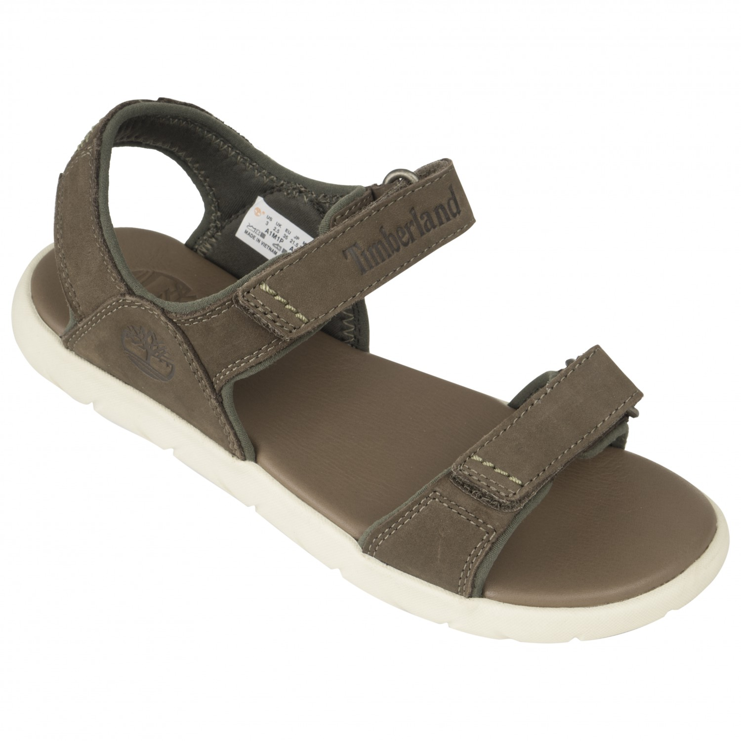 71a99eb0163 Timberland Nubble Leather 2-Strap Sandal - Sandals Kids | Buy online ...
