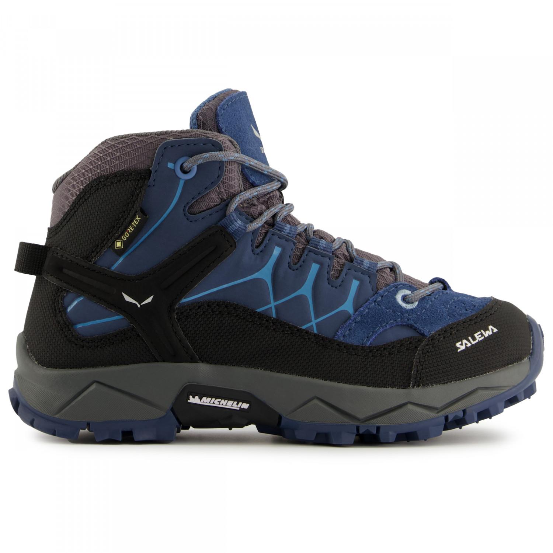 27f2dd4a44a3c Salewa Alp Trainer Mid GTX - Chaussures de randonnée Enfant   Livraison  gratuite   Alpiniste.fr