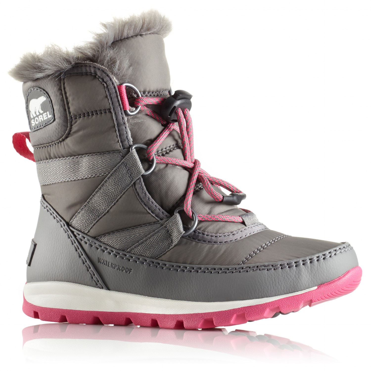 b1d1534a84 Sorel Youth Whitney Short Lace - Winter Boots Kids | Free UK ...