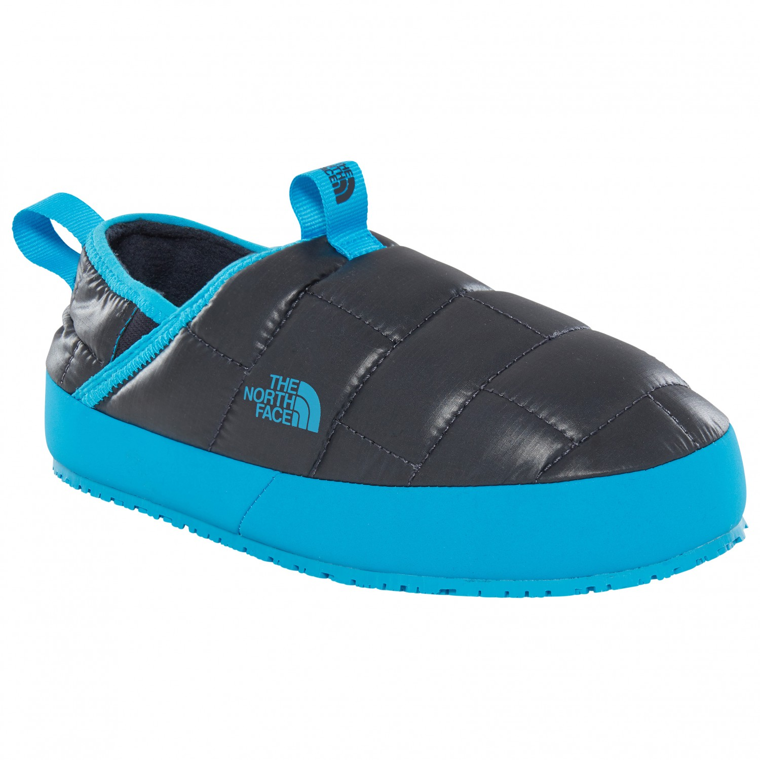 dda520009 The North Face - Youth Thermal Tent Mule II - Slippers - Shiny Urbn Navy /  Hypr Blue | 1 (US)