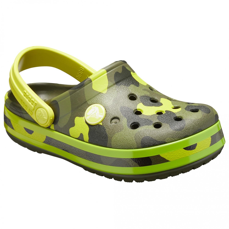 64a7698ad2c597 Crocs Crocband Multigraphic Clog - Sandalen Kinder online kaufen ...