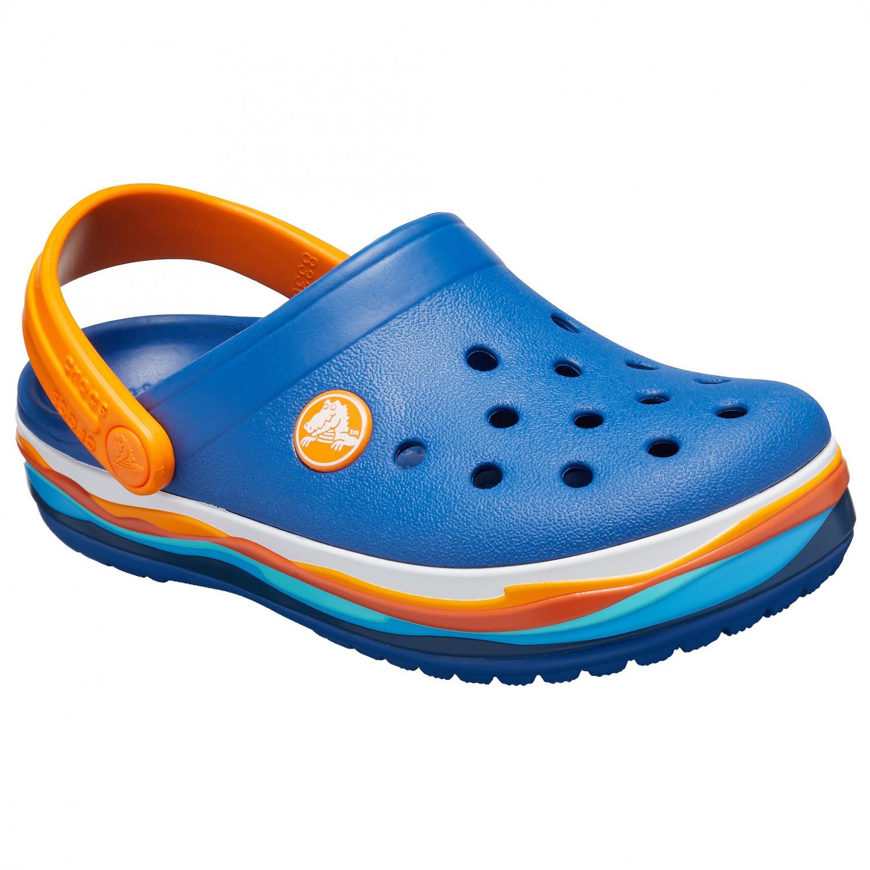 504e8d21 Crocs Crocband Wavy Band Clog - Sandals Kids | Buy online ...