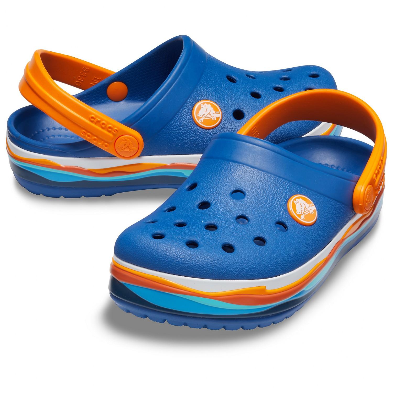 7c3b6b422ae4 ... Crocs - Kid s Crocband Wavy Band Clog - Sandals ...