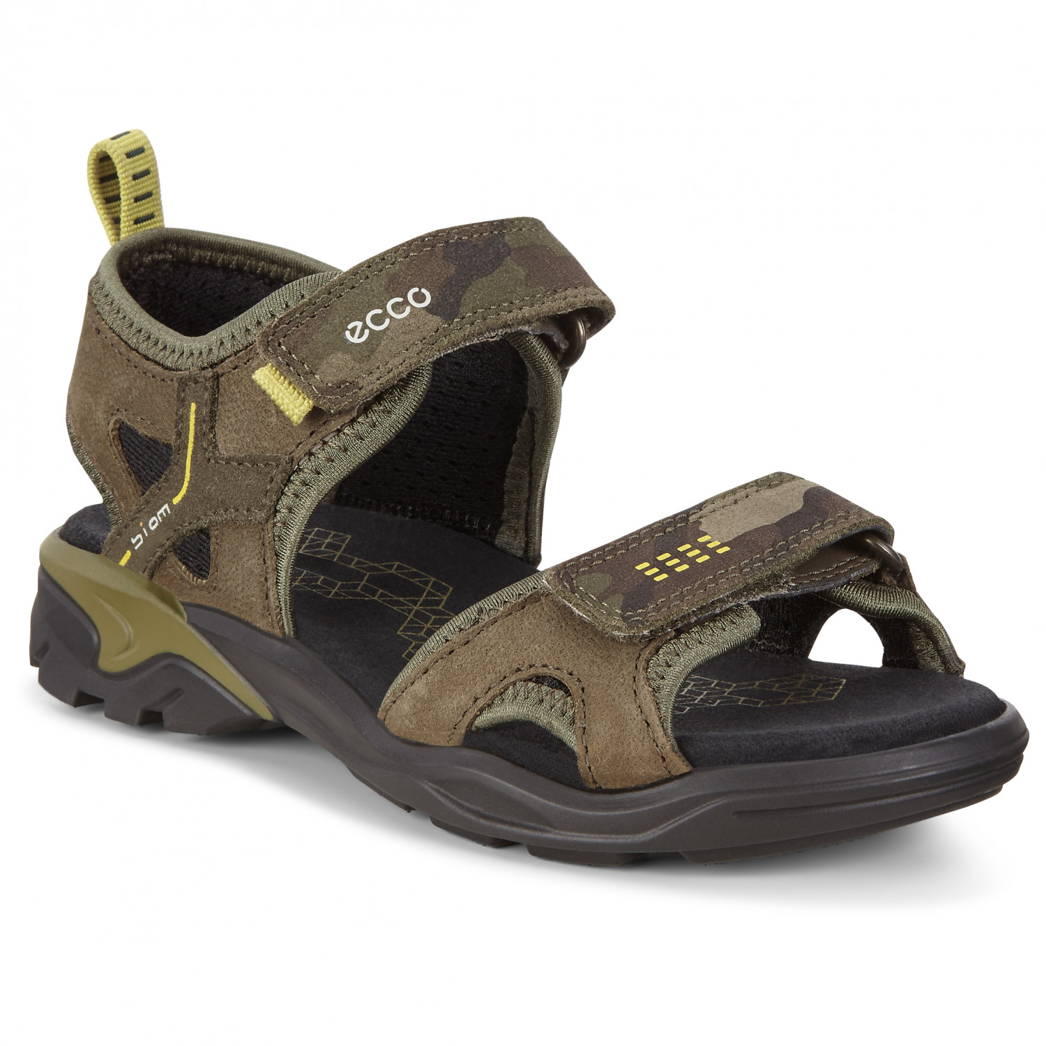 Ecco Biom® Raft Sandal Kids grape leaf