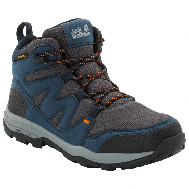 new style bd995 58e0a Jack Wolfskin - Kid's Mountain Attack 3 Texapore Mid - Wanderschuhe - Night  Blue | 29 (EU)