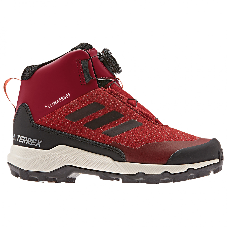 where can i buy utterly stylish new design adidas - Kid's Terrex Winter Mid Boa - Winterschuhe - Active Maroon / Core  Black / Semi Coral | 1 (UK)