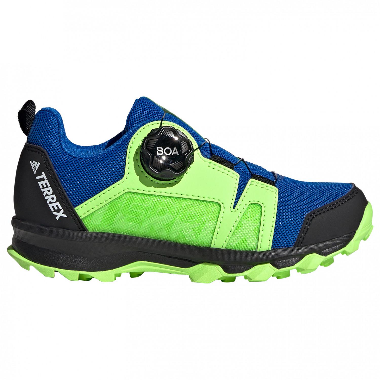 adidas - Kid's Terrex Agravic BOA - Multisportschuhe - Glory Blue / Ftwr  White / Signal Green | 28 (EU)