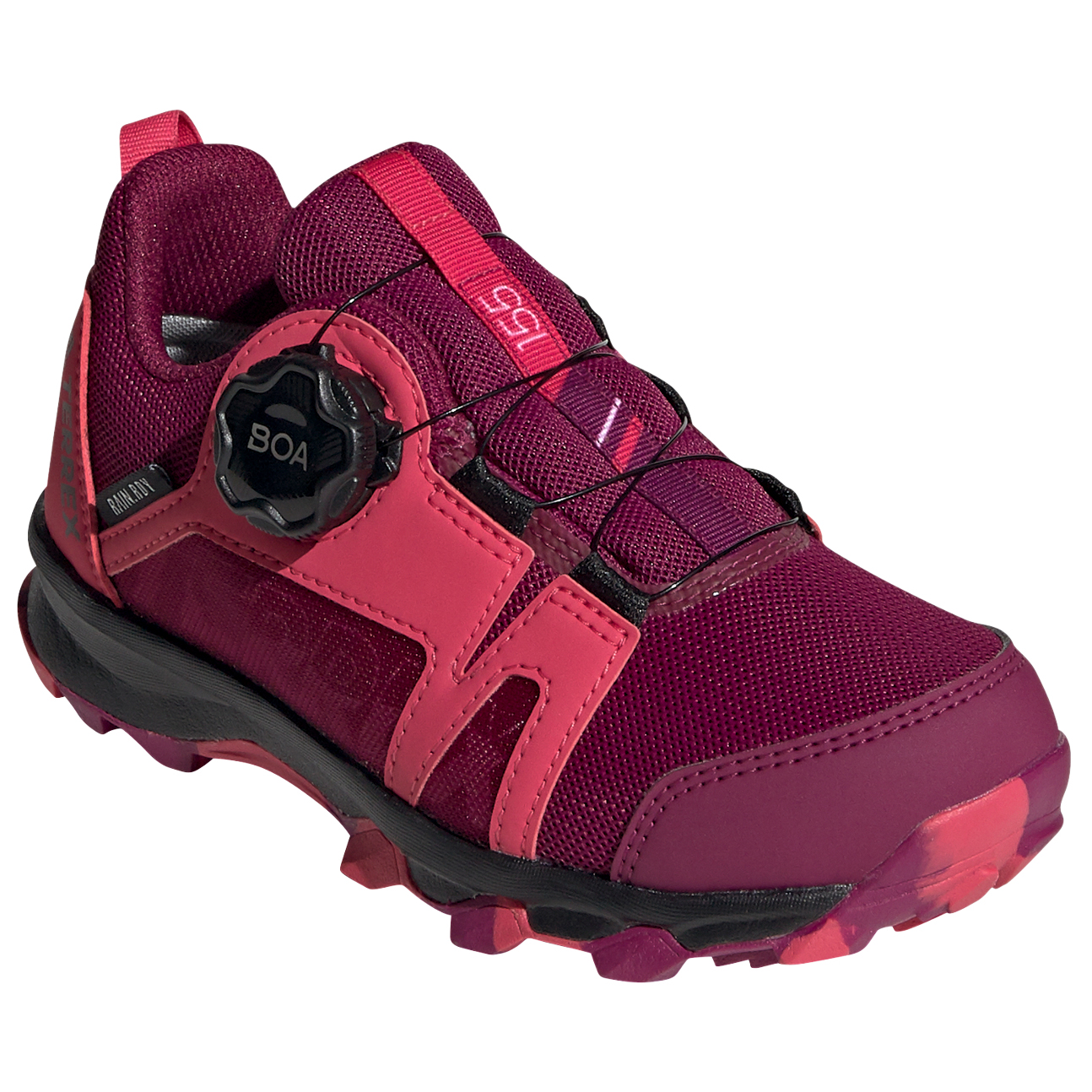 adidas - Kid's Terrex Agravic Boa Rain Ready - Multisport shoes - Power  Berry / Power Pink / Ftwr White | 28 (EU)