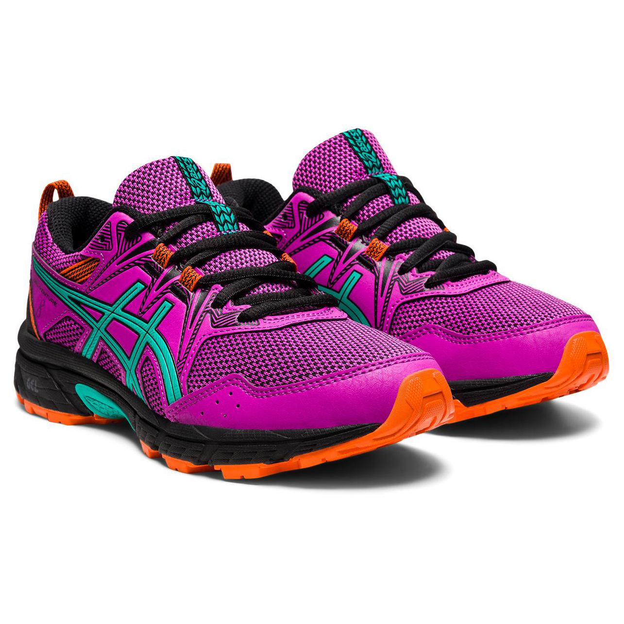 Asics - Kid's Gel-Venture 8 GS - Multisport shoes - Digital Grape / Baltic Jewel | 1 (US)