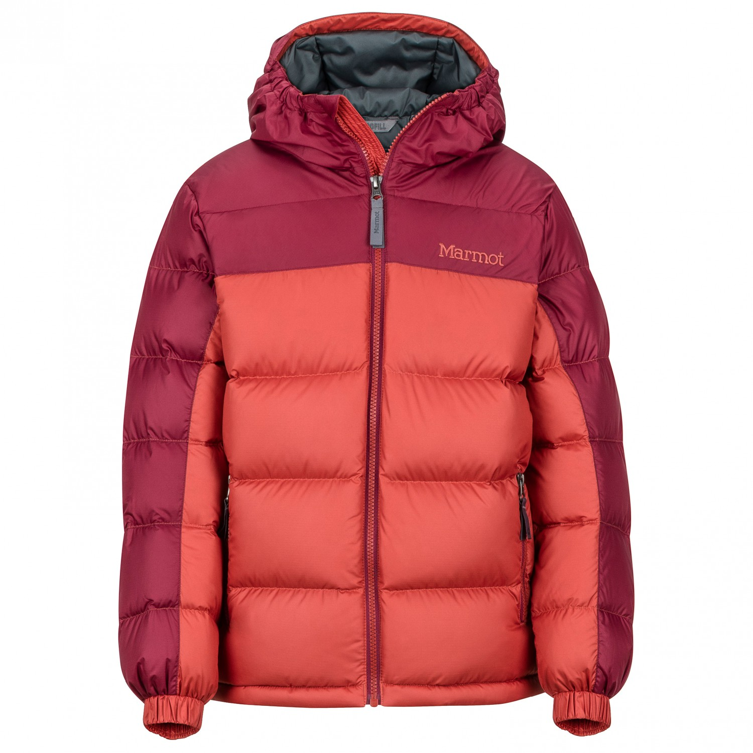 Marmot Childrens Guides Down Hoodie