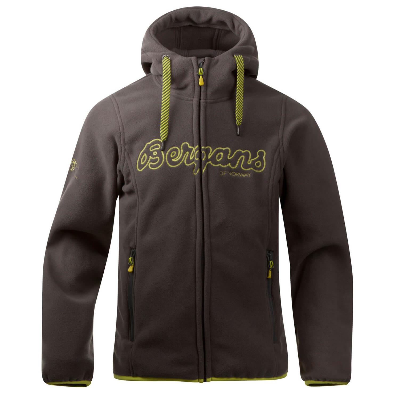 bff9107e Bergans Bryggen Youth Jacket - Fleecejakke Barn kjøp online ...