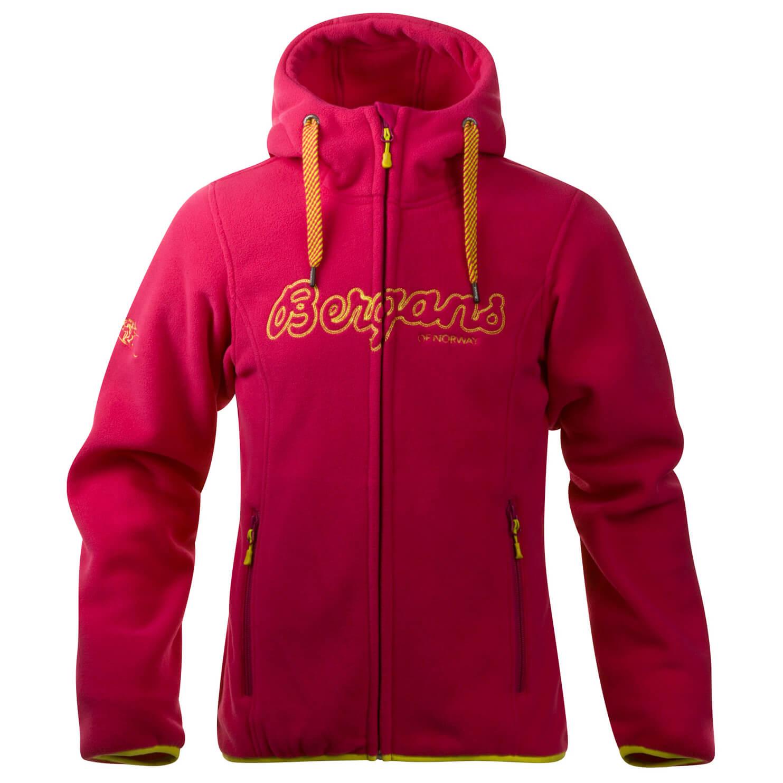 97af571a Bergans Bryggen Youth Girl Jacket - Fleecejakke Barn kjøp online ...