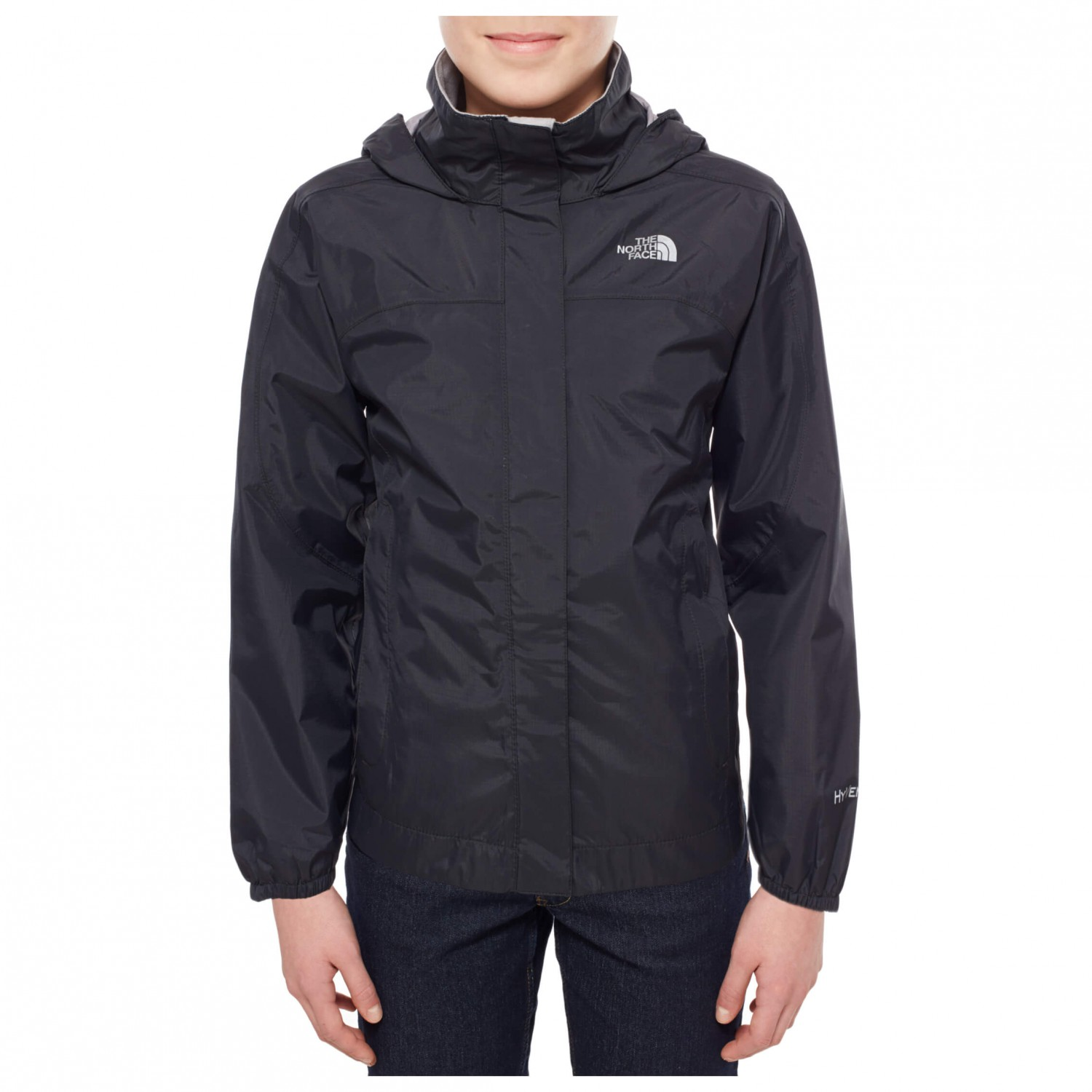 3c93a4474 ... The North Face - Girl's Resolve Reflective Jacket - Waterproof jacket  ...
