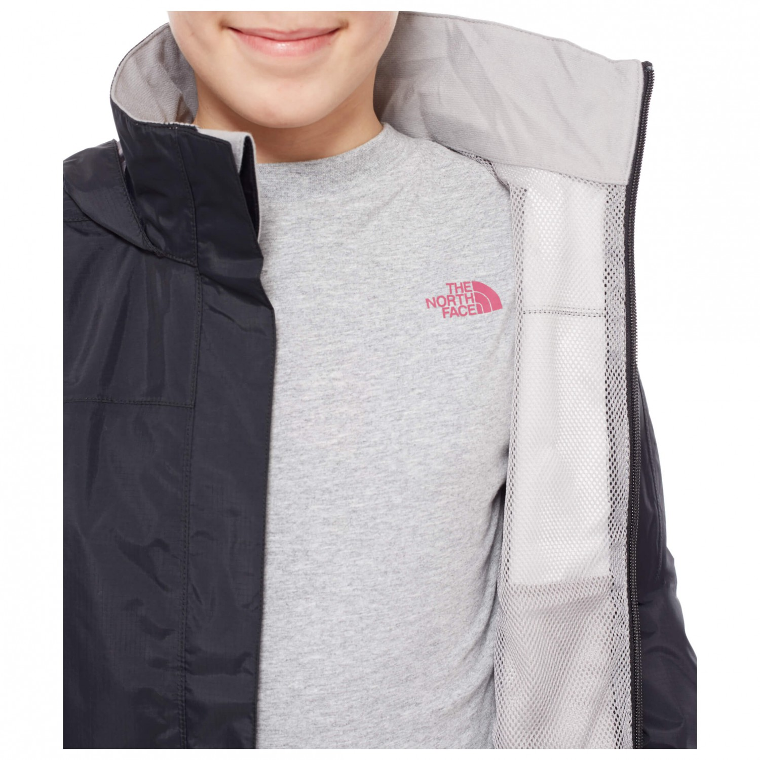 8cd616c08 The North Face - Girl's Resolve Reflective Jacket - Waterproof jacket