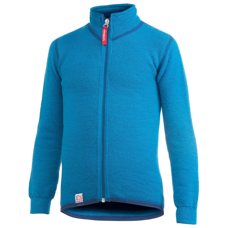 Woolpower Kid's Full Zip Jacket 400 Yllejacka Turtle Green | 8692 (EU)