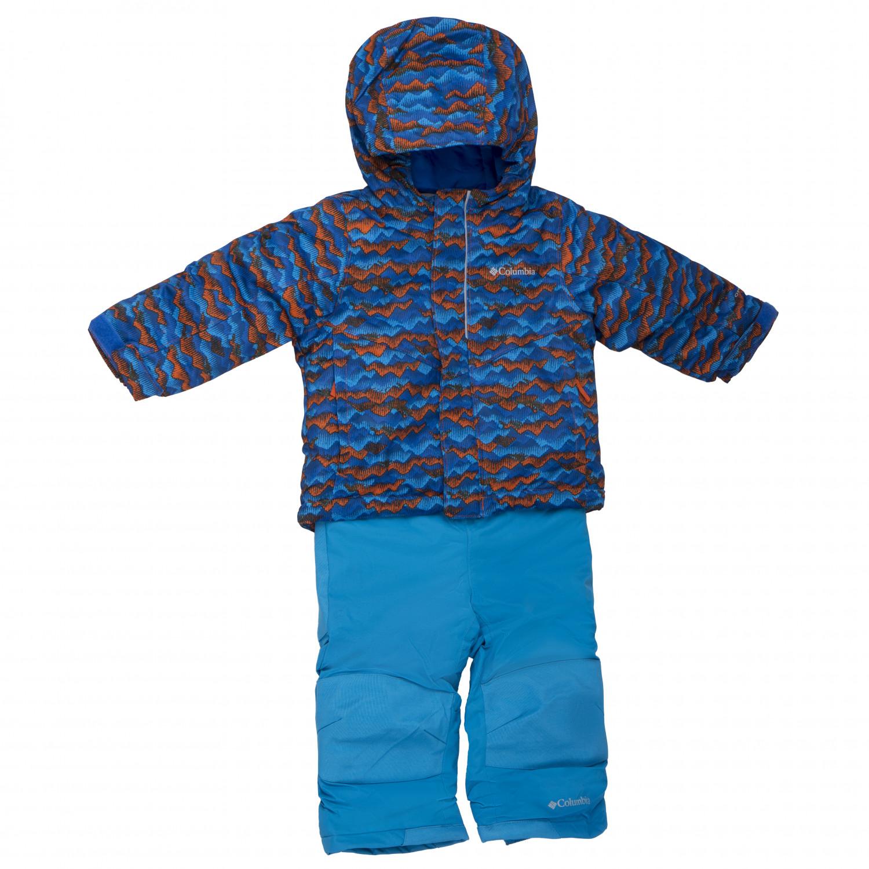 online store 019db b03be Columbia - Kid's Buga Set - Tuta outdoor - Pink Ice / Nocturnal Bib   XXS