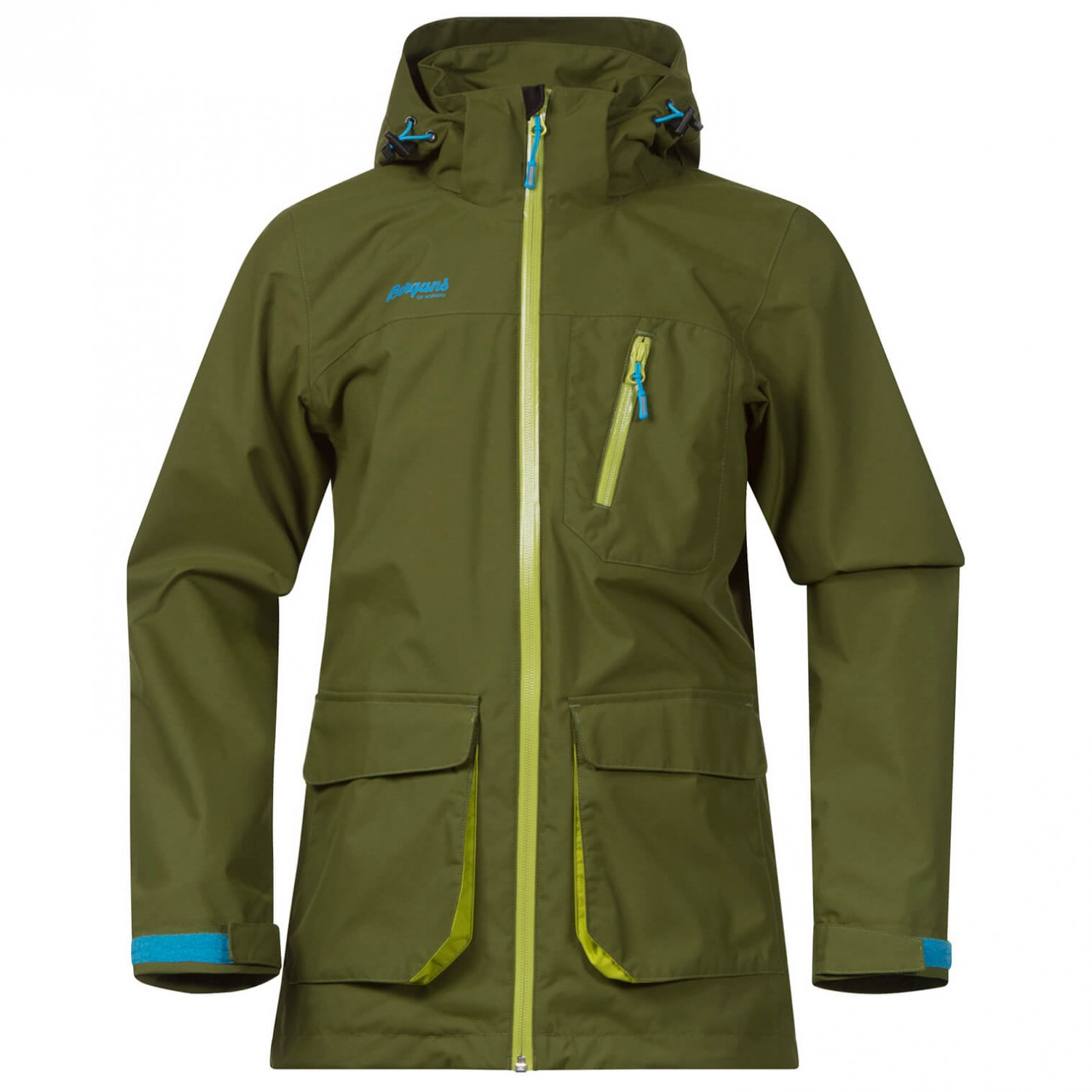 657635588 Bergans - Folven Youth Jacket - Waterproof jacket