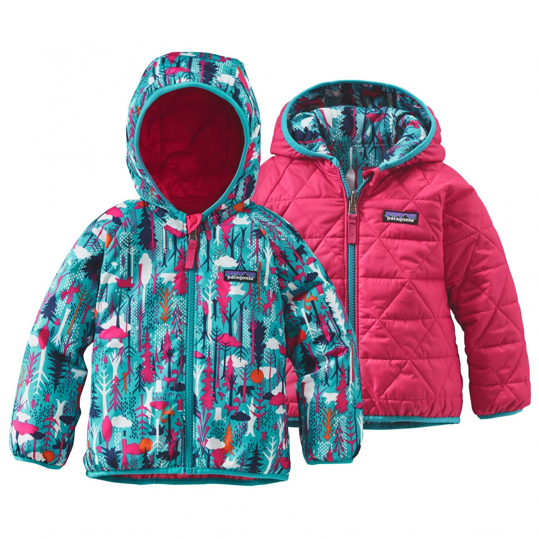 Patagonia Baby Reversible Puff Ball Jacket Kinder