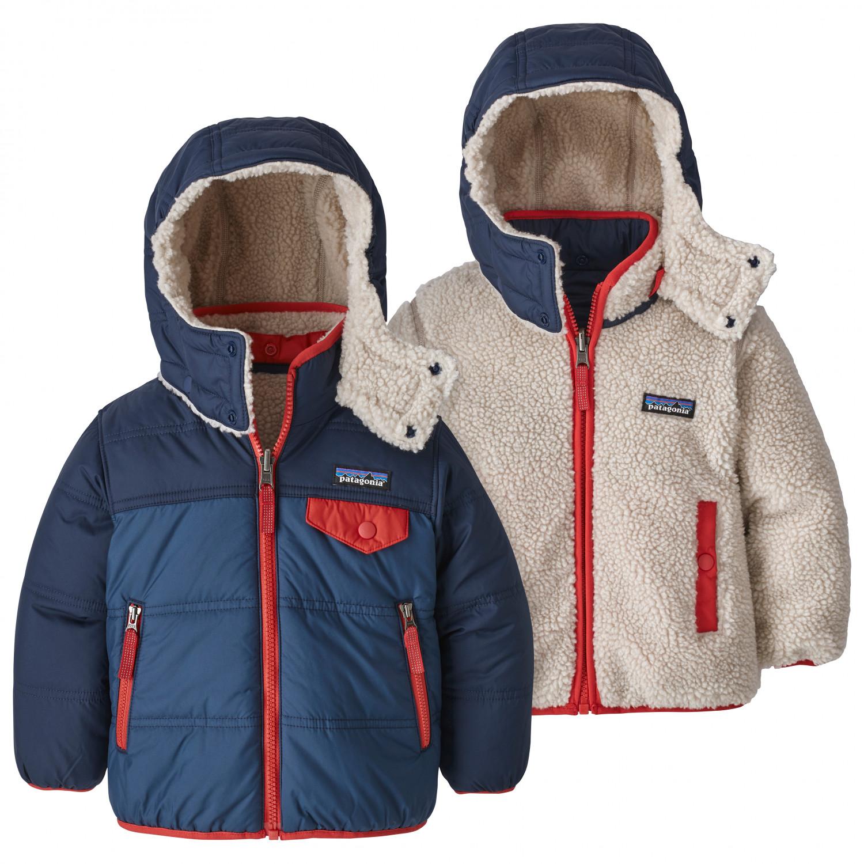 hot sale online 70618 ec01f Patagonia - Baby Reversible Tribbles Hoody - Winterjacke