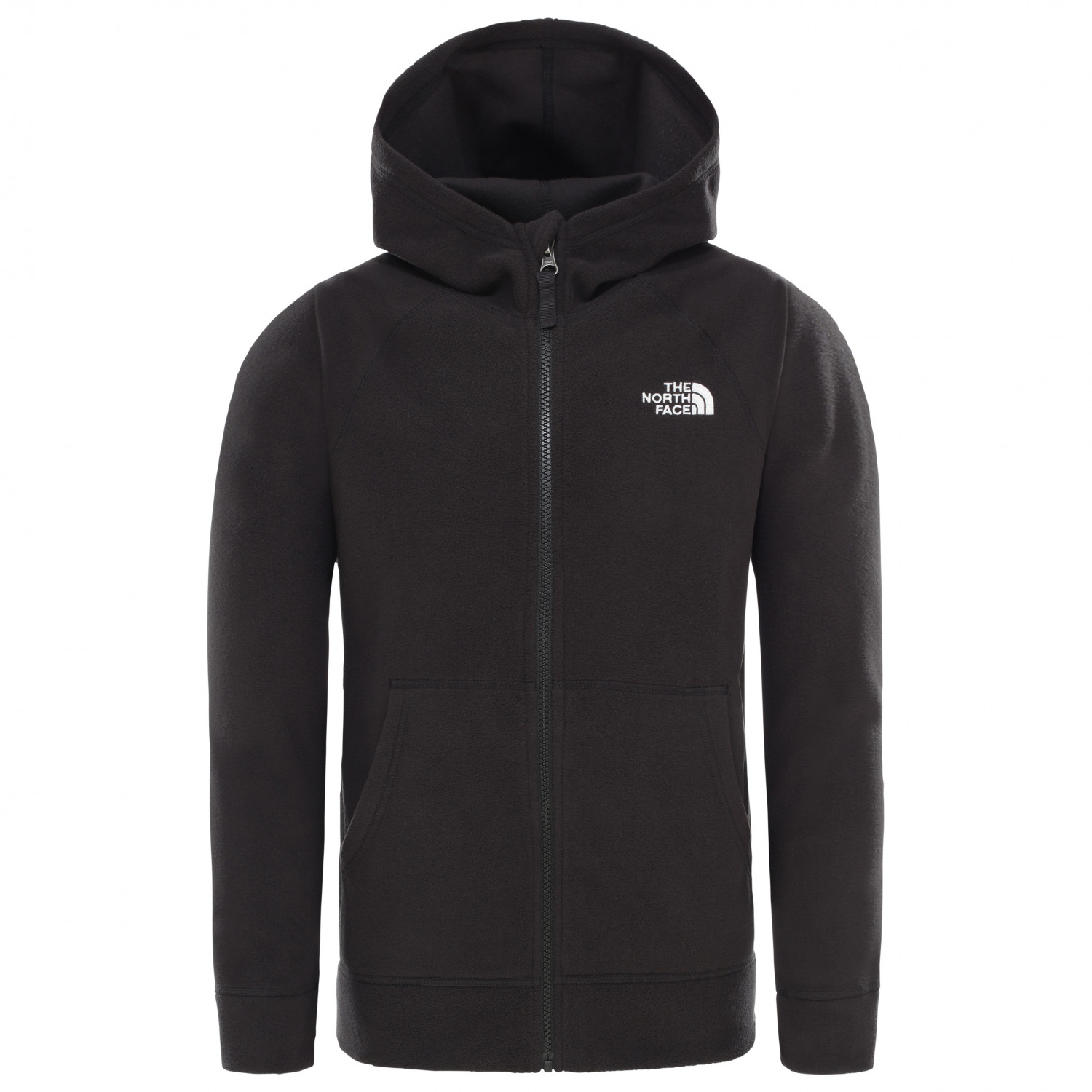 2a2def250 The North Face - Boy's Glacier Full Zip Hoodie - Fleece jacket - TNF Blue |  XS