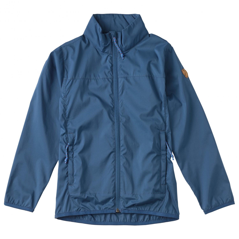 hot product get online best wholesaler Fjällräven Abisko Windbreaker Jacket - Softshell Jacket Kids ...