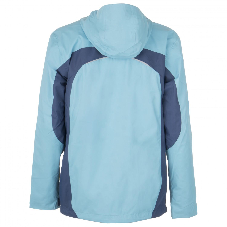 Jack Wolfskin Topas Hardshell Jacket Men azure blue at