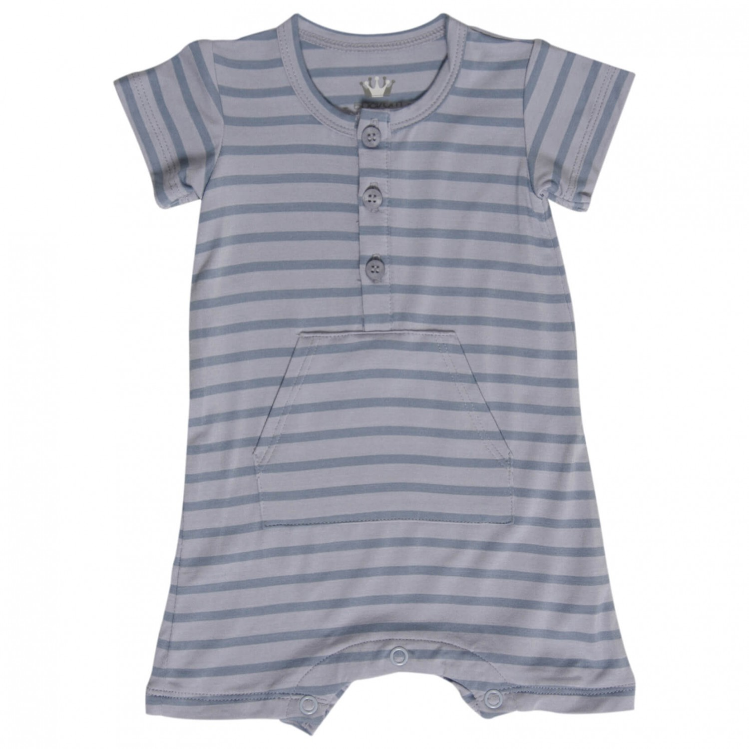 Hust&Claire Bamboo Jumpsuit S S Overalls Kids