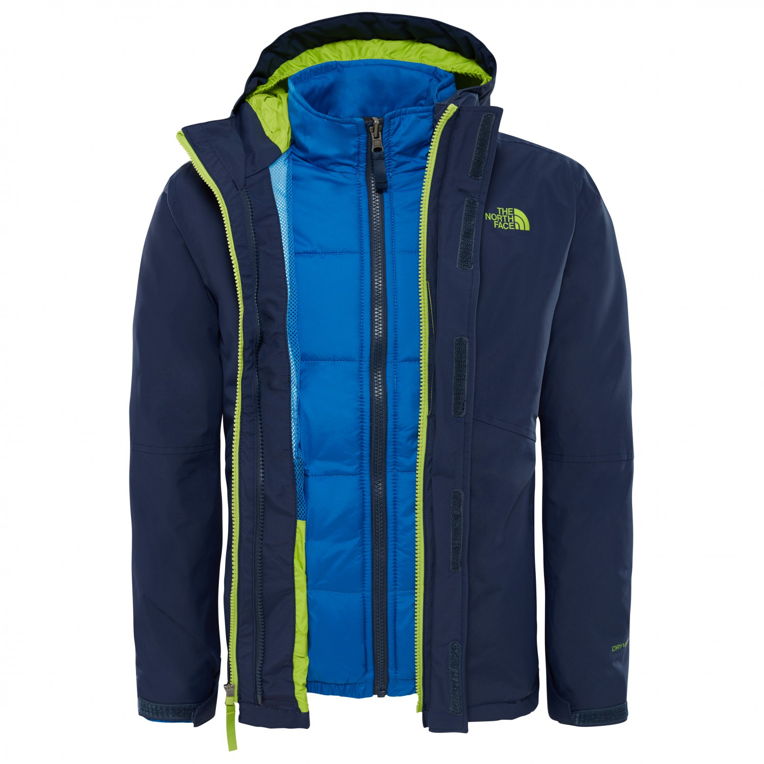 the north face boundary triclimate 3 in 1 jacket boys. Black Bedroom Furniture Sets. Home Design Ideas