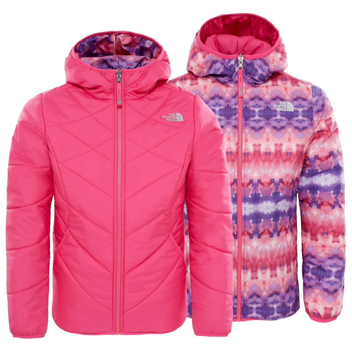 b6e1f3afe7ea ... The North Face - Girl s Reversible Perrito Jacket - Synthetic jacket ...