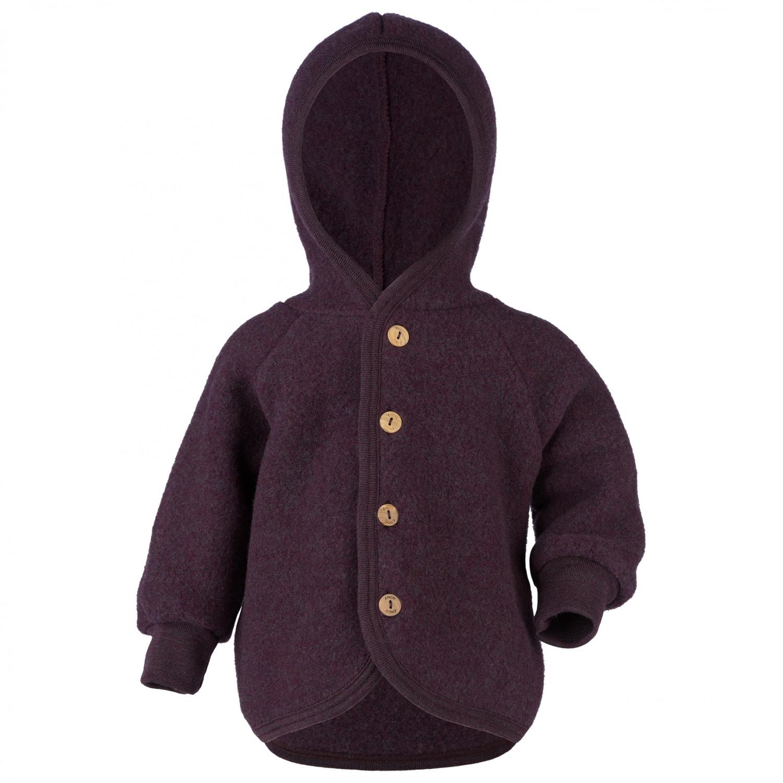 Kapuzenjacke Wool Holzknöpfen Mit Kids Engel Jacket Kinder ALS5R3q4jc