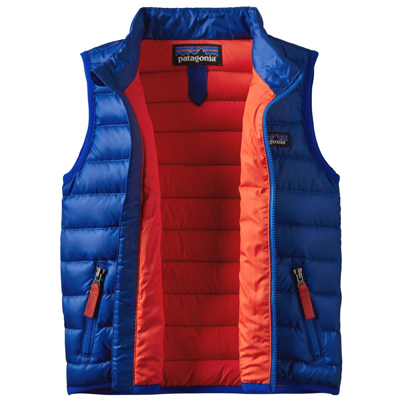 buy popular 7353c 0e4d8 Patagonia - Baby Down Sweater Vest - Daunenweste - Classic Navy | 3T (US)