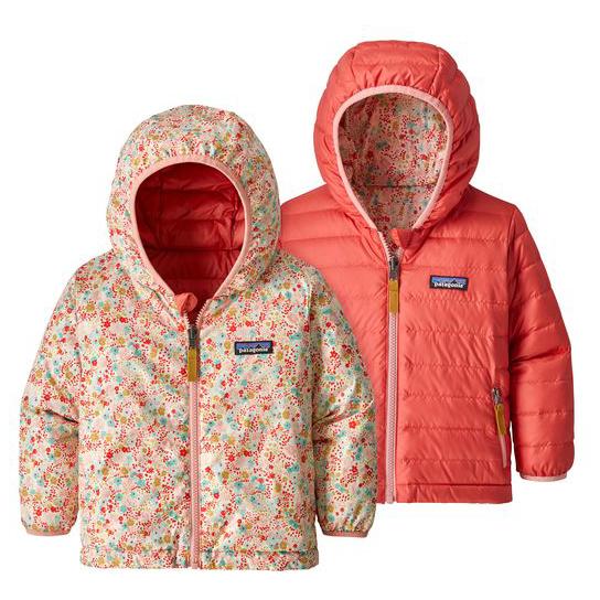Patagonia Baby Reversible Down Sweater Hoody Down Jacket
